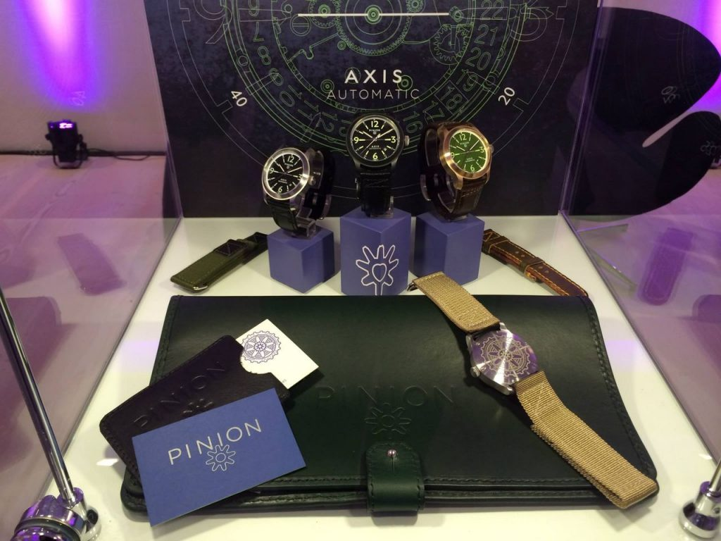Pinion watches launch SalonQP 2013