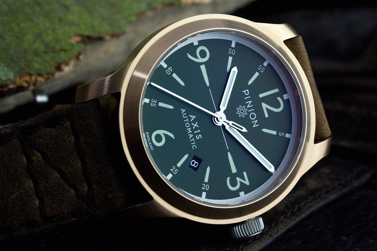 Pinion Axis Bronze Prototype watch
