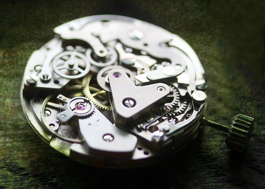 Valjoux 7734 watch movement
