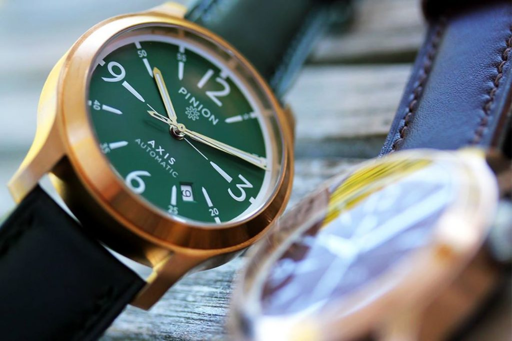 Pinion Axis Bronze Watch