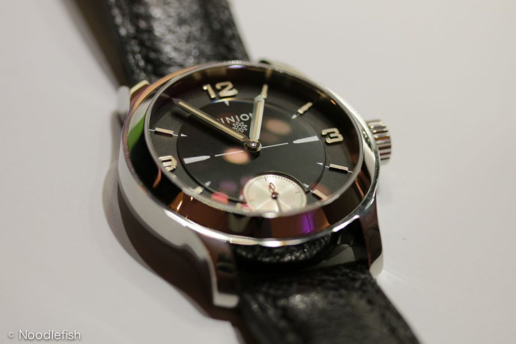Pinion Pure Steel LE hand wound watch