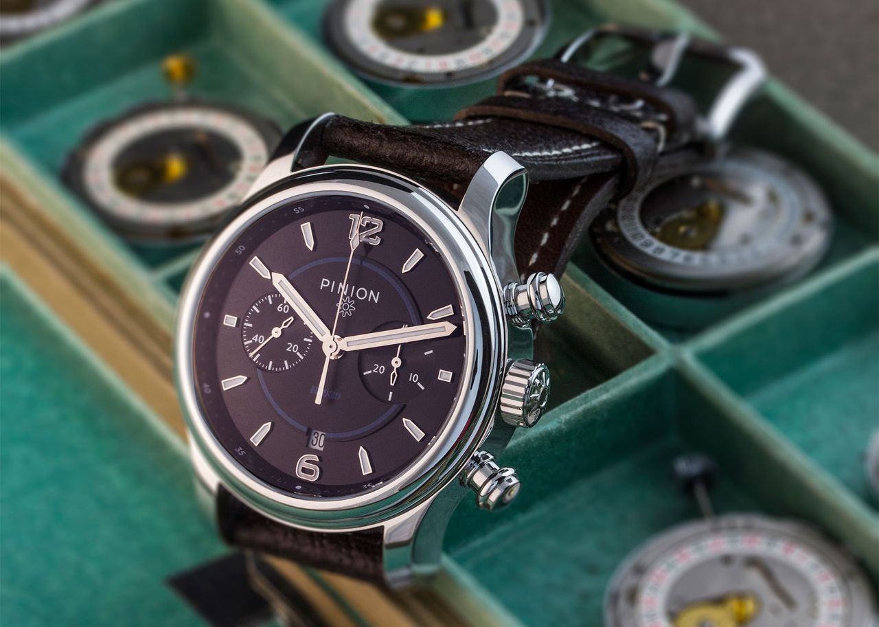 Pinion R-1969 Limited Edition Hand wound Chronograph