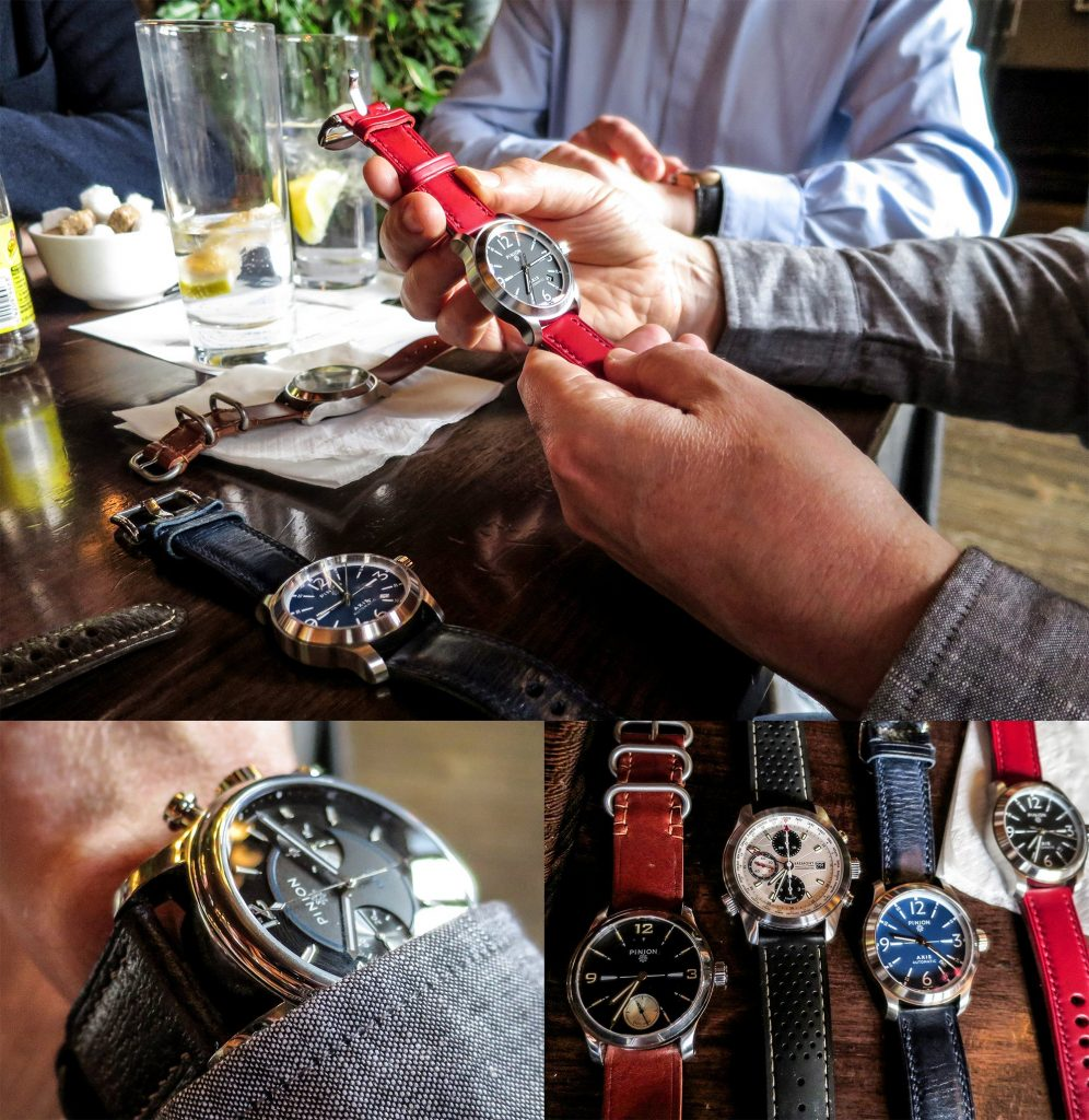 Pinion Apex London Watch gathering