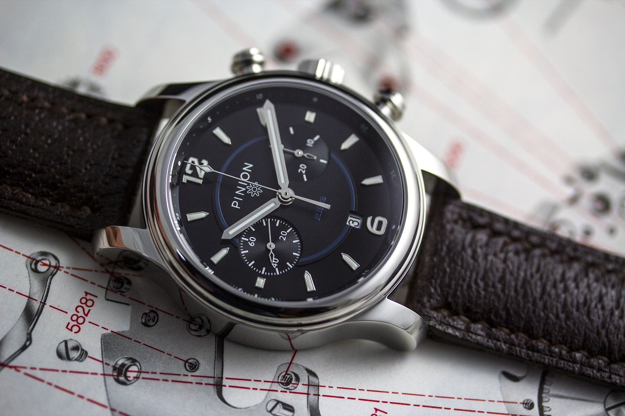 Pinion R-1969 Limited Edition chronograph watch