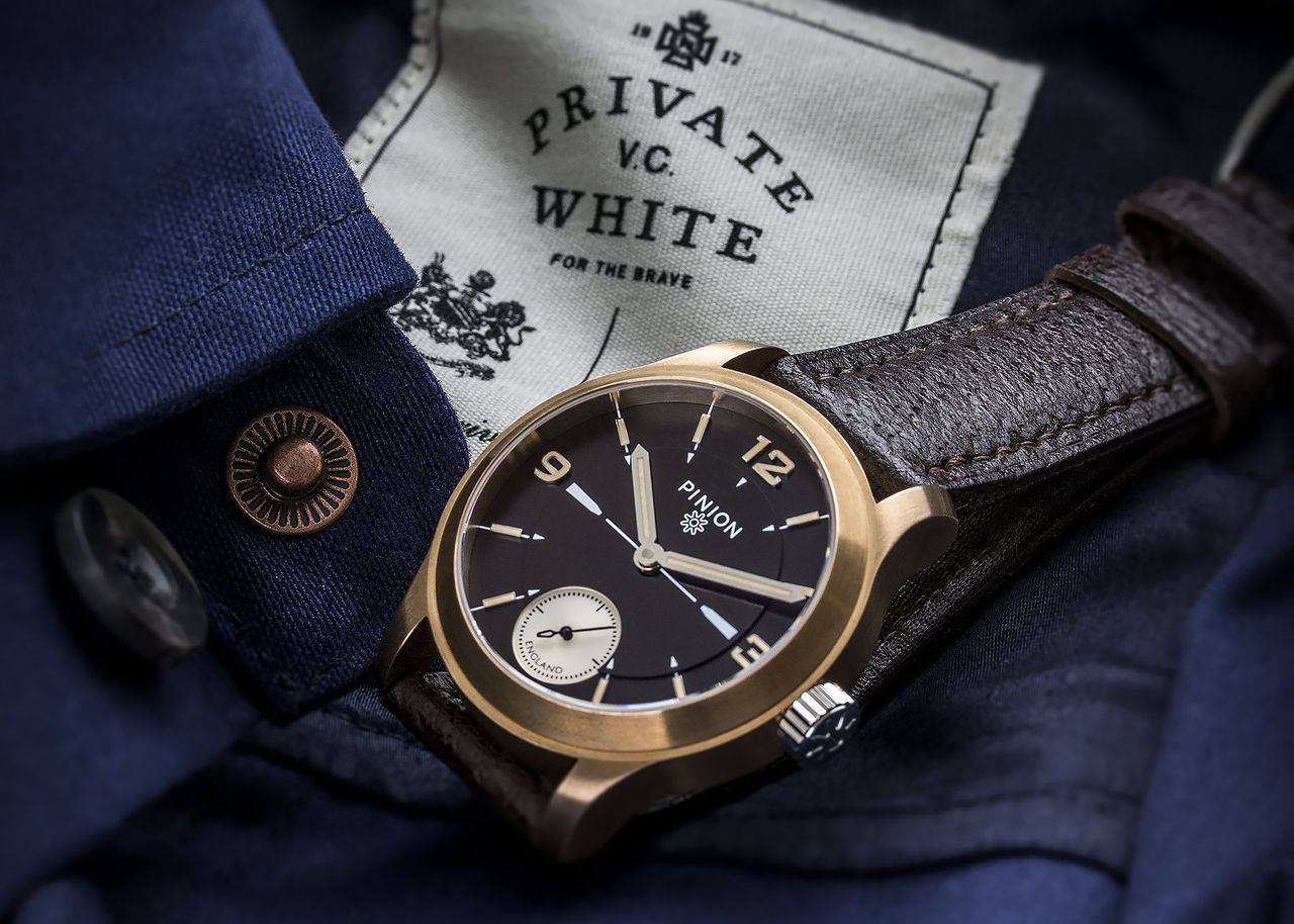 Pinion watch company x Private White V.C
