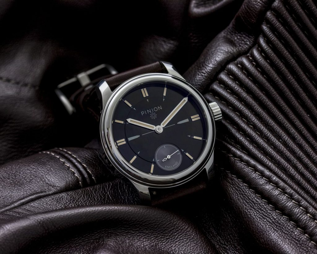 Pinion Pure Pro Steel hand wound watch