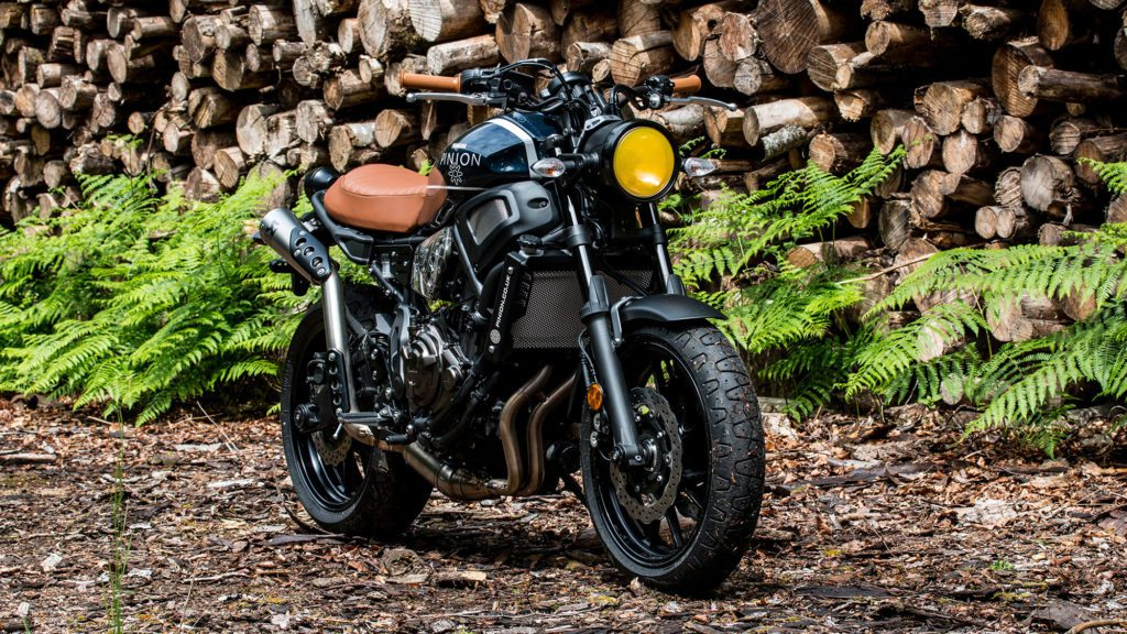 Yamaha XSR700 customised by Pinion Watch Company