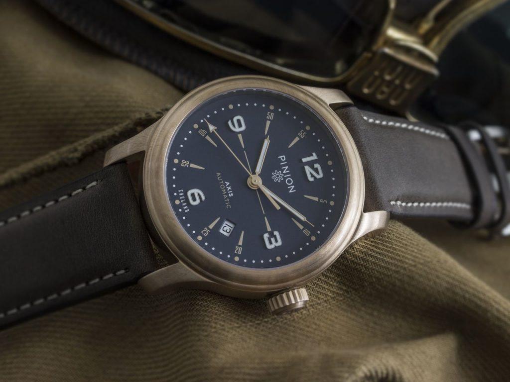Pinion Axis II Bronze BL Watch