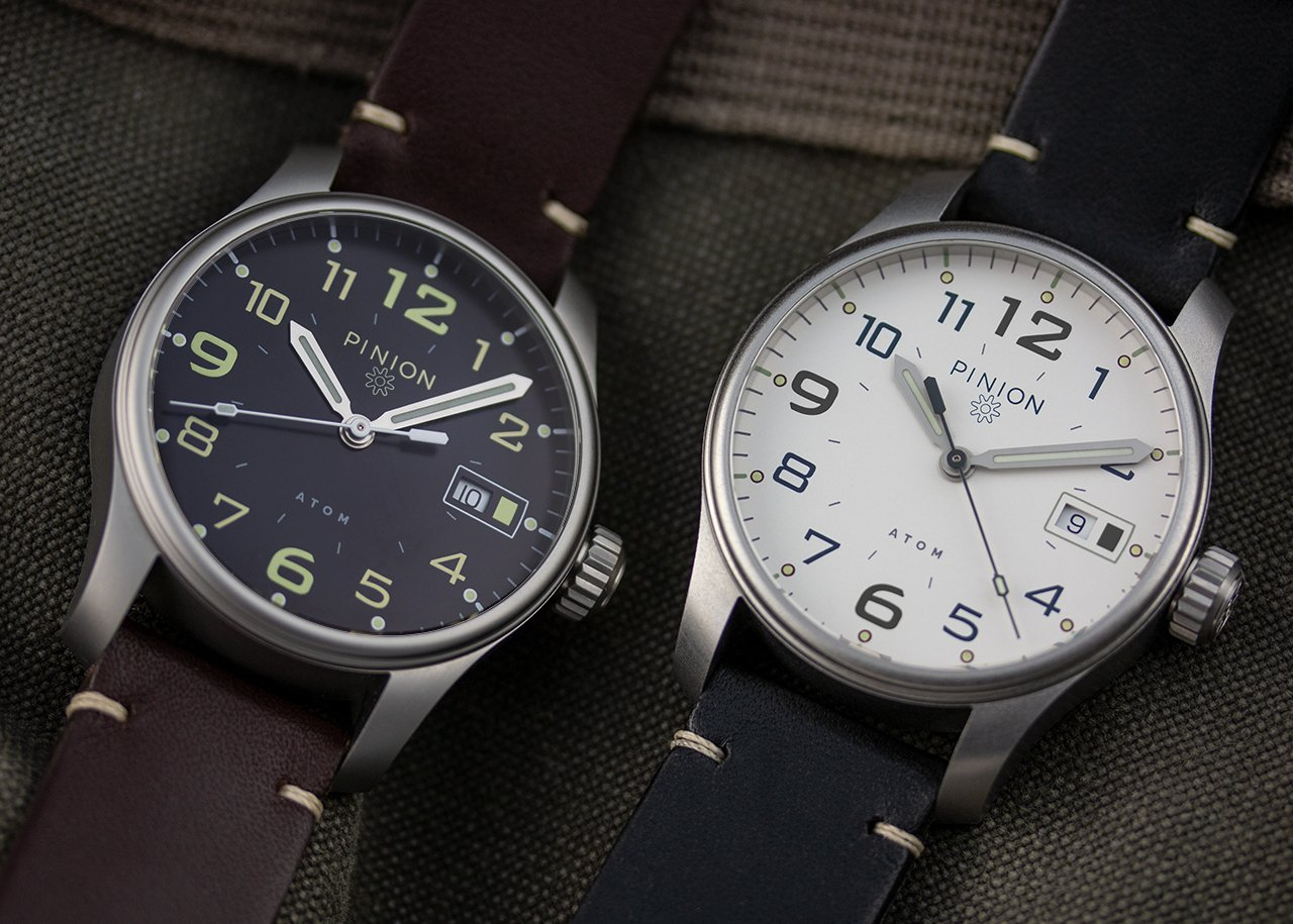 Pinion Atom watches