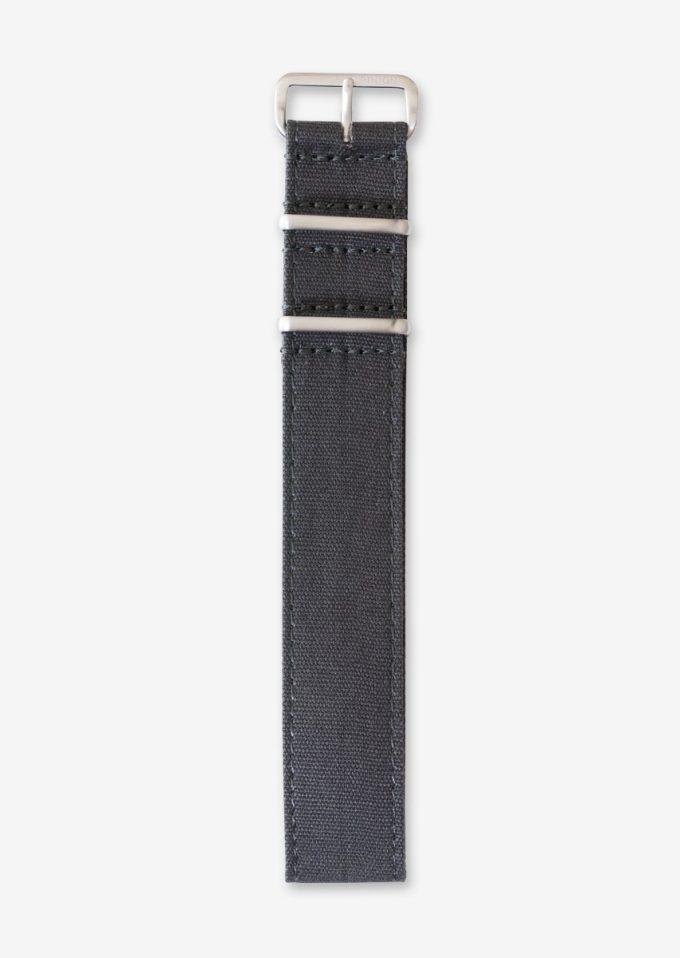 22mm canvas watch strap