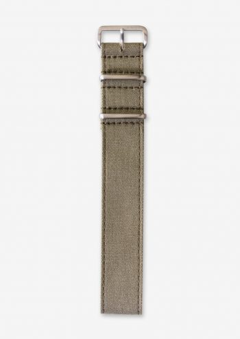 22mm khaki canvas watch strap