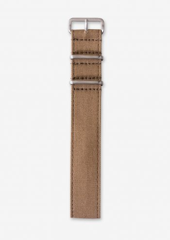 22mm sand canvas strap