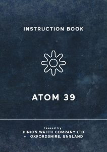 Atom 39 watch manual