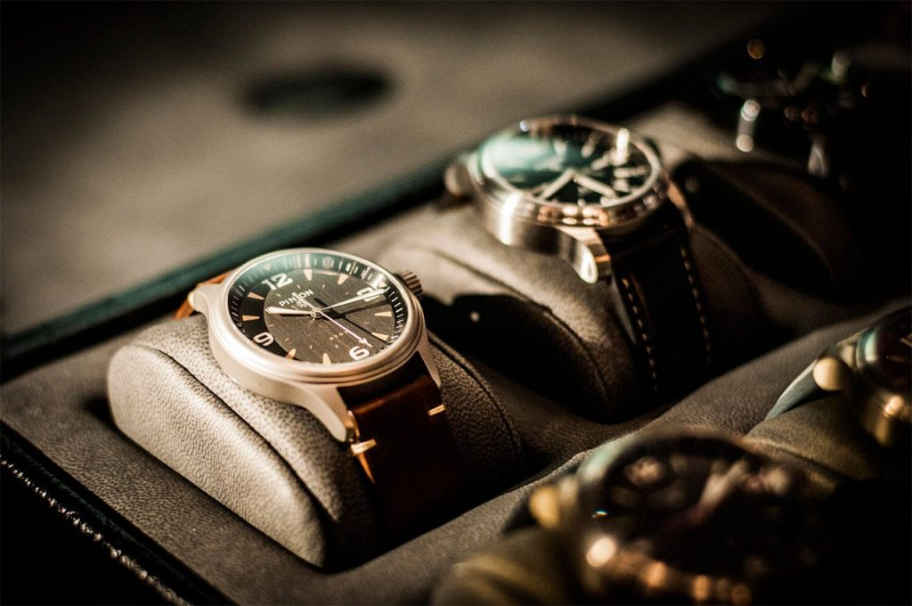 Pinion at the watchmakers club event Nov 2018