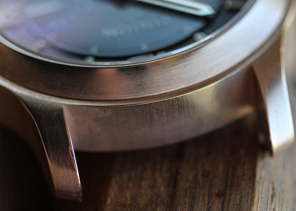 Clean bronze watch