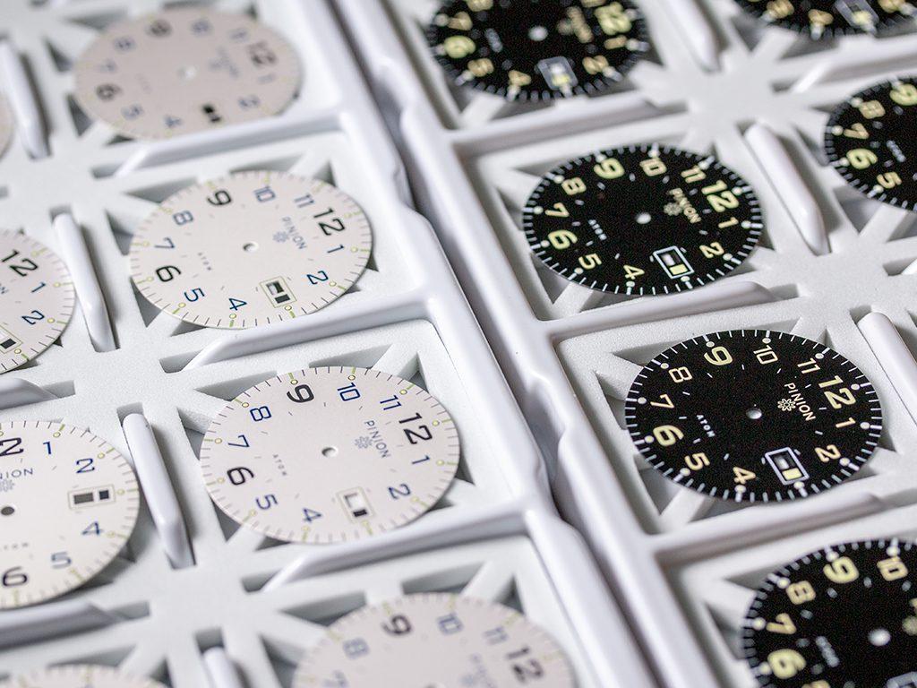 Pinion Atom 39 Watch Dials