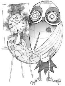 Pinion watch design