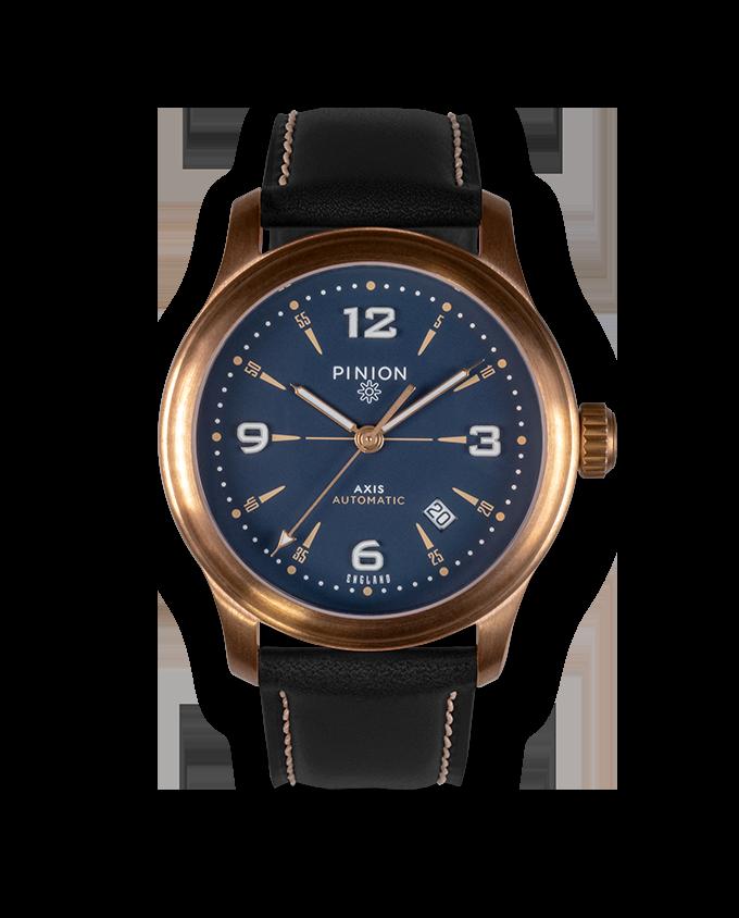 Pinion Axis II Bronze watch
