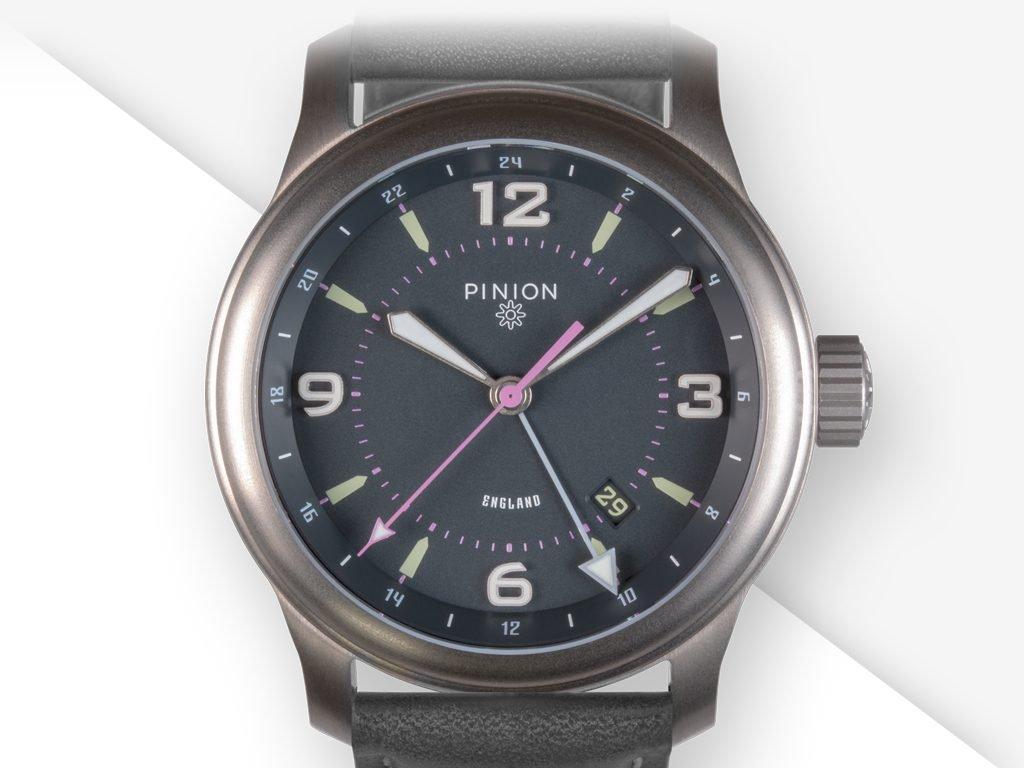 Pinion TT Titanium GMT Watches