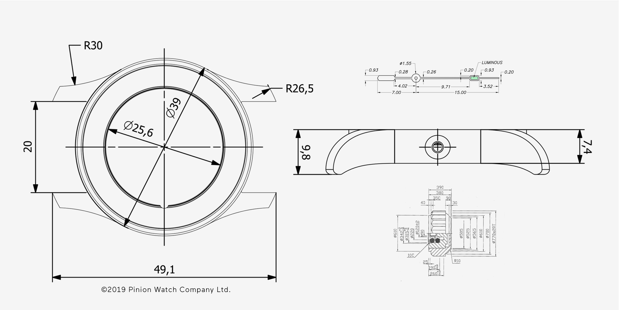 pinion-atom-39-technical-drawings