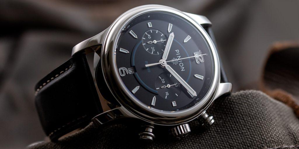 Pinion R1969 Valjoux 7734 chronograph