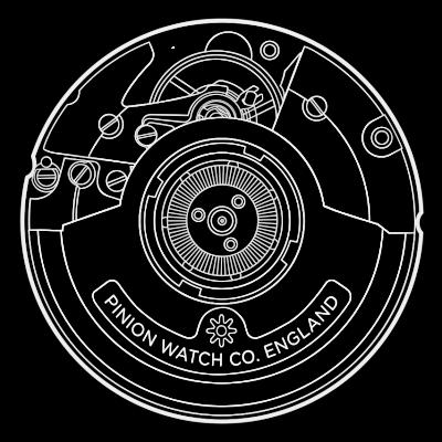 Pinion TT ETA2893-2 GMT Movement