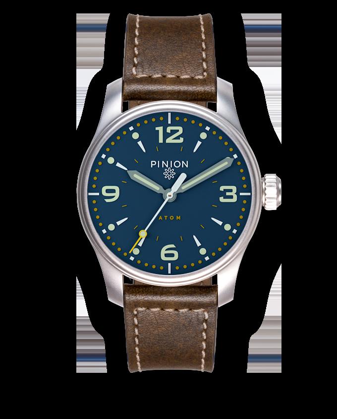 Pinion Atom 39 ND Blue Dial