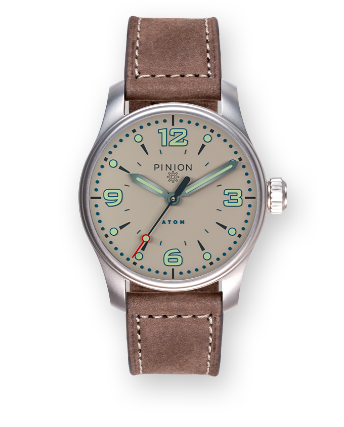 Pinion Atom 39mm ND Sand Dial Watch