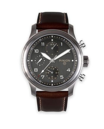 Pinion Elapse Valjoux 7750 Chronograph Anthracite Dial watch