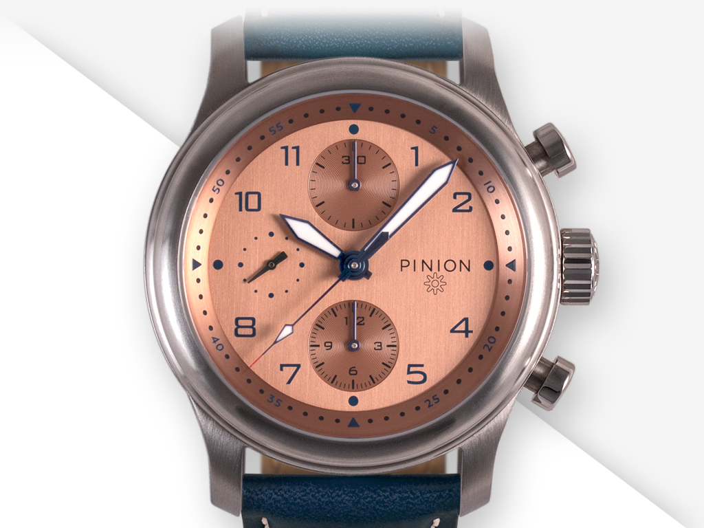 Pinion Elapse Chronograph watch collection